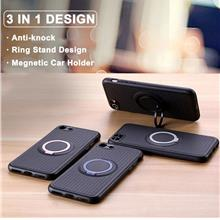 iFace iPhone XR 6.1' Magnetic Ring Car Holder Case Cover