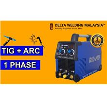 DELTA RILAND 250CT (230A) TIG + ARC INVERTER WELDING MACHINE MALAYSIA