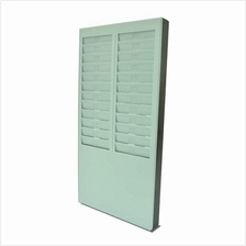 Employee Time Recorder Attendance Punch Card Rack 24 Slot