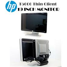 HP T5000 Thin Client AMD  PC With HP 19 inch Pavilion w1907 Monitor