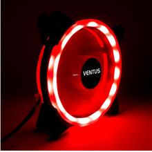 Ventus 12 cm Radika red LED double ring casing fan Vs Segotep Aigo