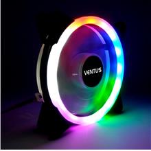 Ventus 12 cm Radika chroma LED double ring casing fan Vs Segotep Aigo