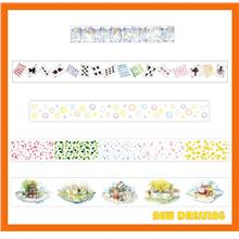 WH366 - Card Games and Star Washi Tape