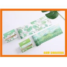 WH370 - Fields and Leaves Wide Washi Tape (10cm x 3m)