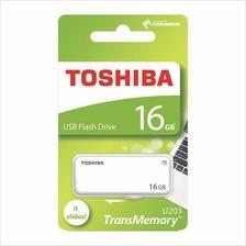 TOSHIBA 64GB USB2.0 YAMABIKO FLASH DRIVE (THN-U203W0640A4) WHT