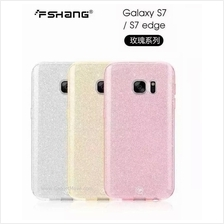 FanShang Galaxy S7 Edge Glitter Sparkling Bling Cover Case