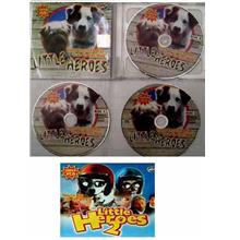 2 VCDs LITTLE HEROES 1 & 2 (Adv. of Dogs) New (BARTERING Available)