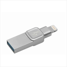 KINGSTON DATATRAVELER BOLT DUO 128GB IPHONE FLASH DRIVE