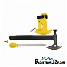 Ganzo Firebird Axe Hammer Saw w Fire Starter FSA02-YE