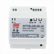 DR-60-24 Industrial DIN Rail Power Supply 60W AC To DC 24V