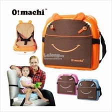 OMachi 2 in 1 Portable Baby Booster Seat and Mummy Carrying Storage Ba