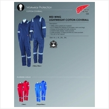 e96cbd4824f7 Coverall Red Wing 100% Preshrunk Cotton 6Reflector 75914 NFR 0 Del GST
