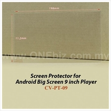 Screen Protector for Android Big Screen 9 inch Player - CV-PT-09