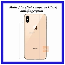 Back Film Matte Protector film iPhone Xs MAX 6.5