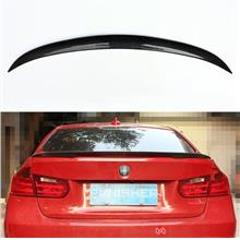 BMW 3 Series  F30 F80 Carbon Fiber Rear Trunk Spoiler P Style