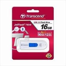 TRANSCEND 128GB USB3.0 JETFLASH JF790 FLASH DRIVE (TS128GJF790W) WHT