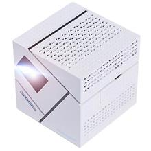 P1 White Mini Pico DLP Projector Home Theater HDMI 70 Lumens Bluetooth..