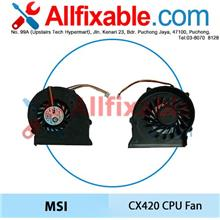 MSI CR420 CR500 CR600 CR630 CX420 CX600 CX620 EX620 EX623 CPU fan