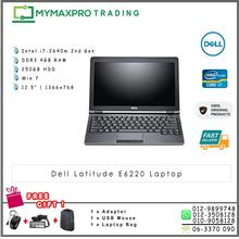 Dell Latitude E6220 i7-2640m 4GB DDR3 250GB Win 7 Pro laptop