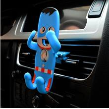 Flexible Cartoon Captain America & Kung Fu Panda Car Phone holder