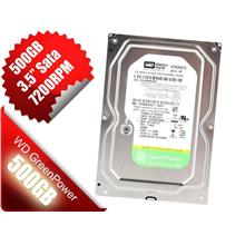 WD Western Digital Caviar Green 500GB Internal 7200 RPM 3.5'' HHD