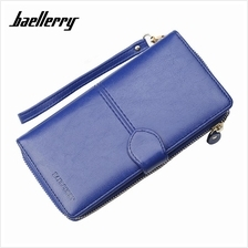 4GL Baellerry N3846 Women Long Zipper Purse Wallet Wristlet Card Holde