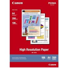 Canon HR-101N A4 High Resolution Paper 200s (HR-101N A4)