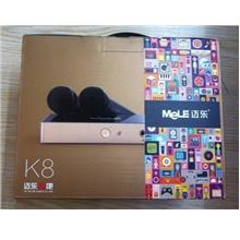 MELE K8 ANDROID MEDIA PLAYER / KARAOKE / FREE 2 MICROPHONE