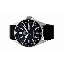 ORIENT Men Automatic Ray 3 Black Rubber Diver Watch RA-AA0010B