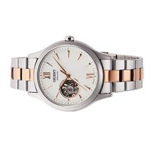 ORIENT Ladies Automatic Open Heart Stainless Steel Watch RA-AG0020S
