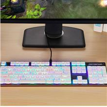 Wired Mechanical Keyboard 104 Keys Full Keys Keyboard With RGB Backlig..