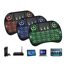 92 Keys 2.4Ghz Portable Wireless Keyboard With Three-Color Touchpad Ba..