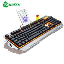 PK810 Membrane Gaming Keyboard Backlight 104 Keys Wired Keyboard For G..