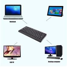 Universal Portable 2.4G Wireless Keyboard Ultra Thin for Tablet PC Com..