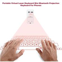 Portable Virtual Laser Keyboard Mini Bluetooth Projection Keyboard For..