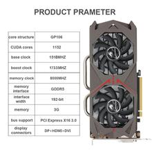 GTX1060 192bit Desktop Computer Gaming Graphics Cards For Desktop Comp..