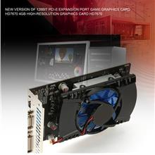 Gaming Video Graphics Card for HD7670 4G/128bit GDDR5 480 Stream Proce..