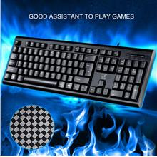 Q9 Wired USB Connected 104 Keys Keyboard with Number Section for Lapto..