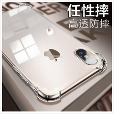 APPLE IPHONE X XS XR XS MAX ANTIDROP SOFT Transparent TPU Case