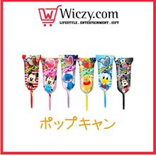 glico disney pop stick candy
