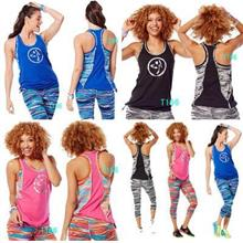 Zumba Treaded Layered Tank