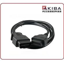 OBD2 Extension Cable 16p M to F J1962 OBD Cable (1.5m)