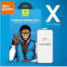 BlueO HD 2.5D Clear Strong iPhone Xs Xs MAX XR tempered glass