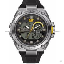 Caterpillar CAT Watches MB.145.21.131 Anadigit II Silicon Black Yellow