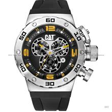 Caterpillar CAT Watches DS.143.21.127 DS49 Chrono Silicone Strap Black