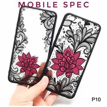 HUAWEI P10 LITE PLUS BEAUTIFUL SEXY BLACK LACE FLOWER BACK CASE