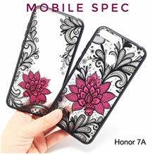 HUAWEI HONOR 7A 7S 7X 8 PRO 9 LITE 10 PLAY SEXY BLACK LACE FLOWER CASE