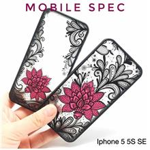 APPLE IPHONE 5 5S SE 6 6S 7 8 PLUS X SEXY BLACK LACE FLOWER CASE
