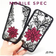 SAMSUNG GALAXY J2 J3 J5 J7 PRO 2018 SEXY BLACK LACE FLOWER CASE