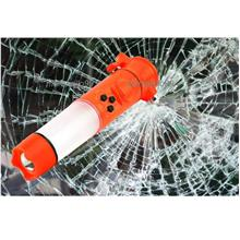 6in1 Multifunctional & Portable Emergency Life Hammer with Siren. Grab
